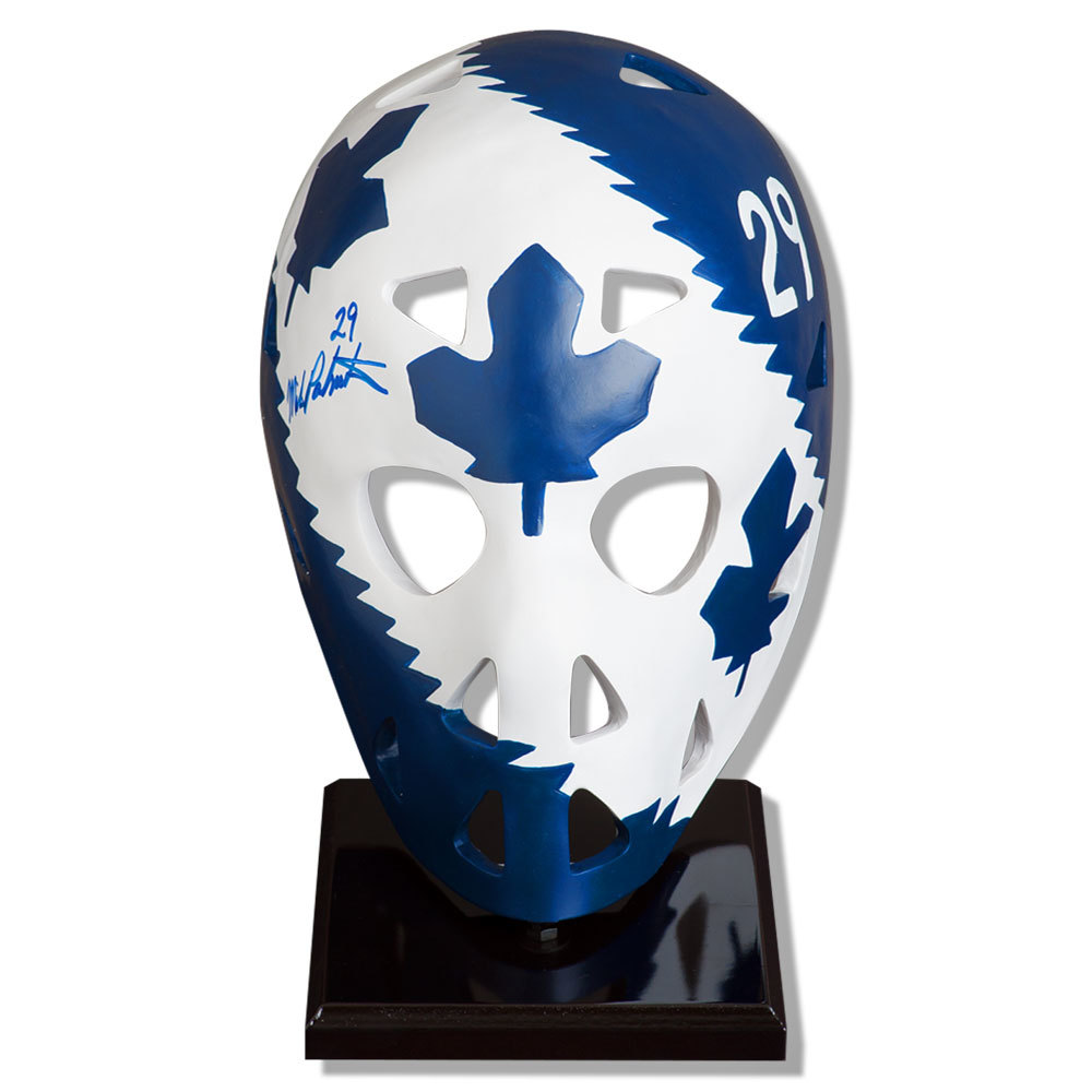 Mike Palmateer Toronto Maple Leafs Autographed Full Size Mask