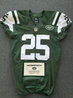 New York Jets - 2015 #25 Calvin Pryor Game Worn Jersey