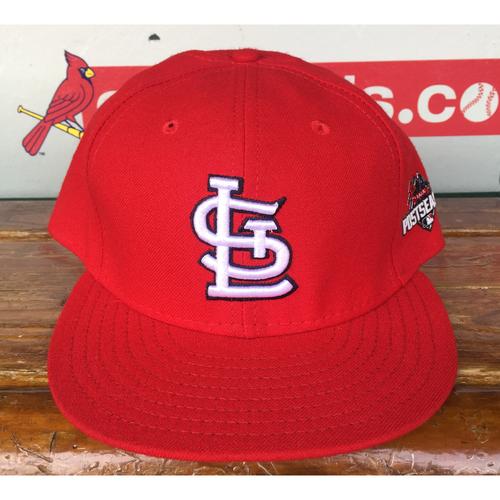 Photo of Cardinals Authentics: Lance Lynn Home Red 2015 Postseason Cap