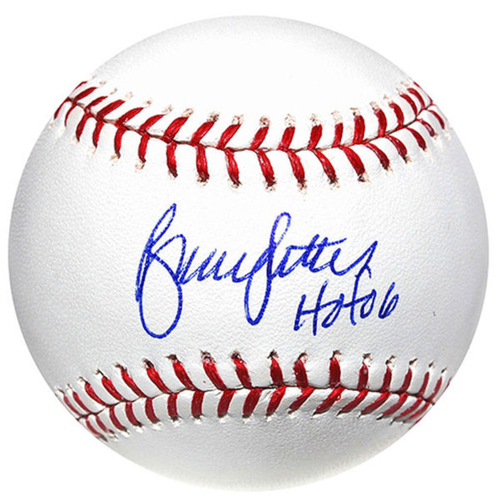 Photo of Cardinals Authentics: Bruce Sutter with HOF 06 Inscribed Autographed Baseball