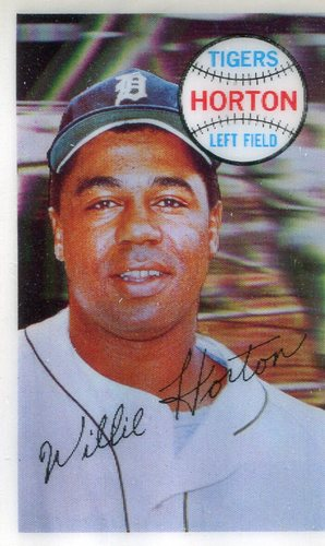 Photo of 1970 Kellogg's #69 Willie Horton