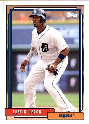Photo of 2017 Topps Archives #271 Justin Upton