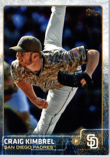 Photo of 2015 Topps Update #US237A Craig Kimbrel -- Red Sox post-season