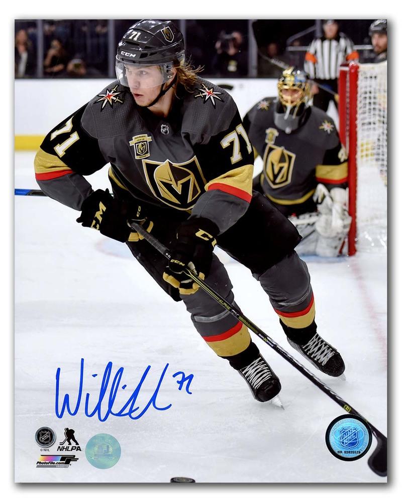 William Karlsson Vegas Golden Knights Autographed Inaugural Season 8x10 Photo