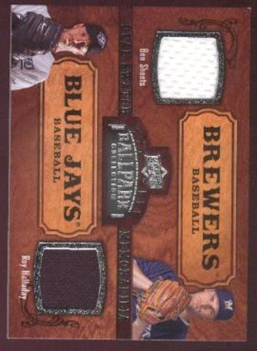 Photo of 2008 Upper Deck Ballpark Collection #185 Ben Sheets/Roy Halladay