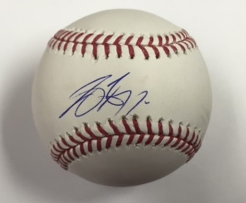 Photo of Joey Gallo Autographed Baseball