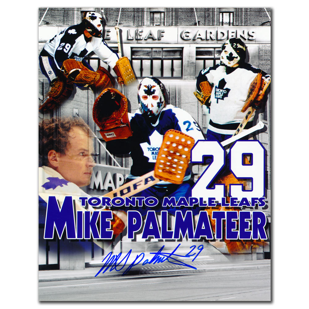 Mike Palmateer Toronto Maple Leafs Collage Autographed 8x10