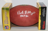 HOF - COWBOYS BOB LILLY SIGNED AUTHENTIC FOOTBALL
