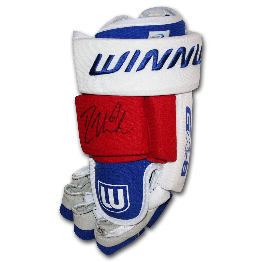 Rick Nash Autographed Winnwell Hockey Glove (New York Rangers)