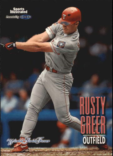 Photo of 1998 Sports Illustrated World Series Fever #63 Rusty Greer