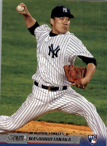 Photo of 2014 Stadium Club #163 Masahiro Tanaka RC
