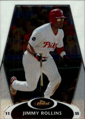 Photo of 2008 Finest #64 Jimmy Rollins