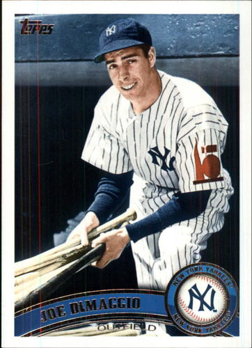 Photo of 2011 Topps Update #US18B Joe DiMaggio short print