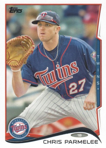 Photo of 2014 Topps #518 Chris Parmelee