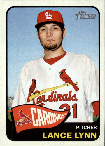 Photo of 2014 Topps Heritage #230 Lance Lynn