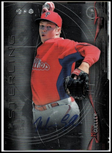 Photo of 2014 Bowman Sterling Prospect Autographs #BSPAMG Mitch Gueller