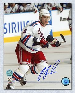 Pavel Bure New York Rangers Autographed 8x10 Photo