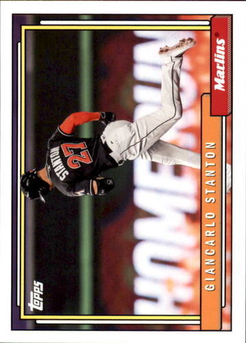 Photo of 2017 Topps Archives #276 Giancarlo Stanton