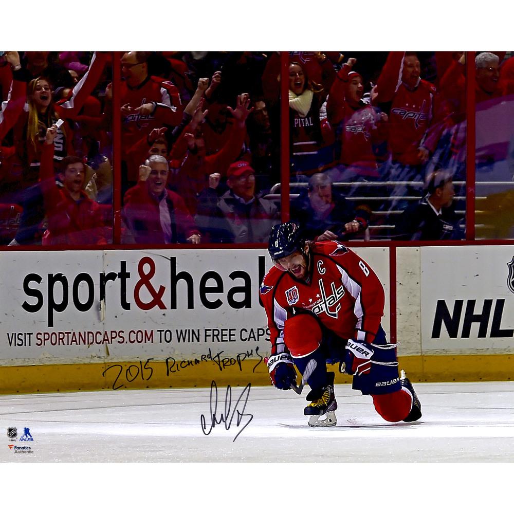 Alex Ovechkin Washington Capitals Autographed 16