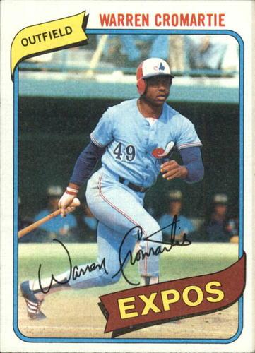 Photo of 1980 Topps #180 Warren Cromartie