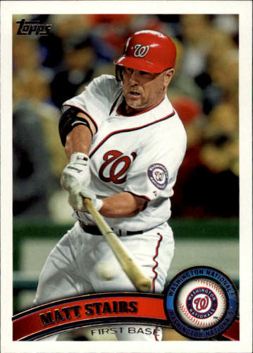 Photo of 2011 Topps Update #US32 Matt Stairs