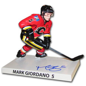 Mark Giordano Autographed Calgary Flames Limited-Edition Premium Sports Artifact