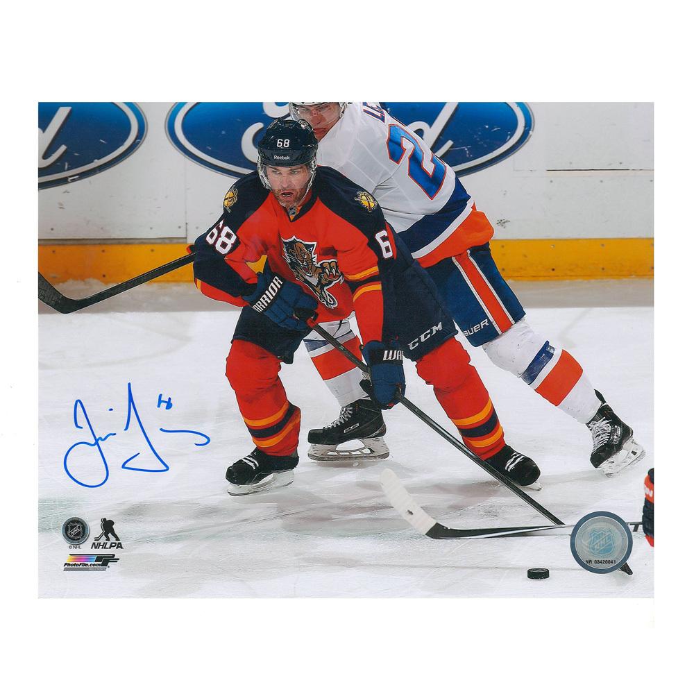 JAROMIR JAGR Signed Florida Panthers 8 X 10 Photo - 70309 A