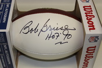 HOF - DOLPHINS BOB GRIESE SIGNED PANEL BALL