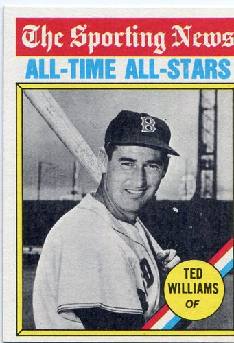 Photo of 1976 Topps #347 Ted Williams All Time Great