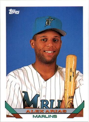 Photo of 1993 Topps #516 Alex Arias