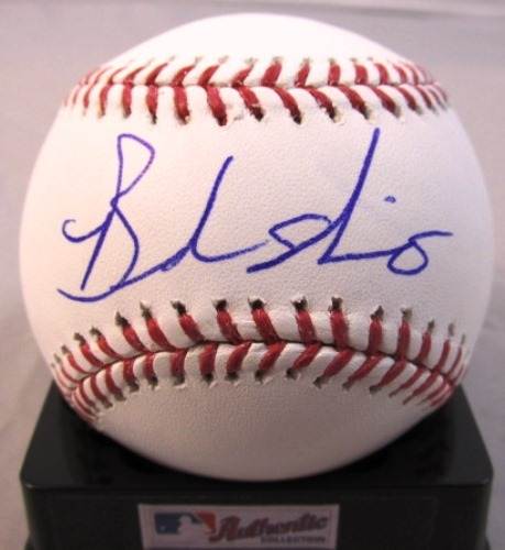 Photo of Brandon Nimmo Autographed Baseball