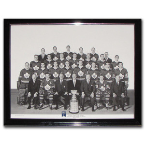 1967 Toronto Maple Leafs Stanley Cup Champions Framed 16X20 Lithograph