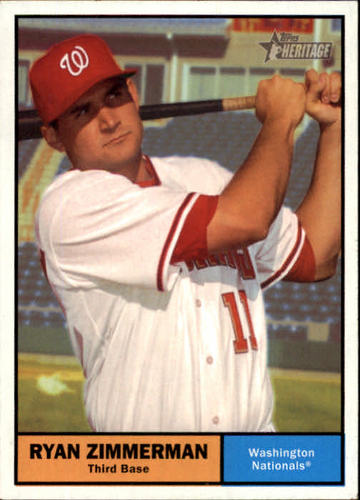 Photo of 2010 Topps Heritage #338 Ryan Zimmerman