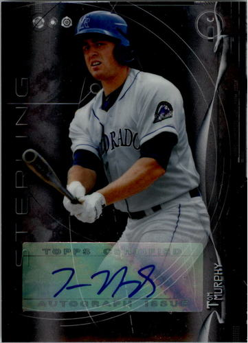 Photo of 2014 Bowman Sterling Prospect Autographs #BSPATM Tom Murphy