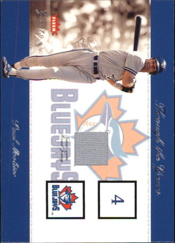 Photo of 2002 Greats of the Game Through the Years Level 1 #14 Paul Molitor Blue Jays