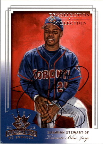 Photo of 2004 Diamond Kings Recollection Autographs #120 S.Stewart 03 DK Black/92 ding bottom left corner