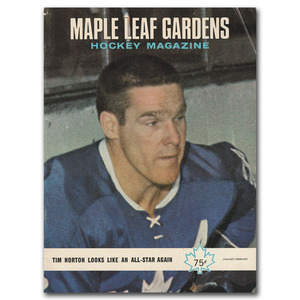 Maple Leaf Gardens Hockey Magazine - February 1969 (Toronto Maple Leafs)