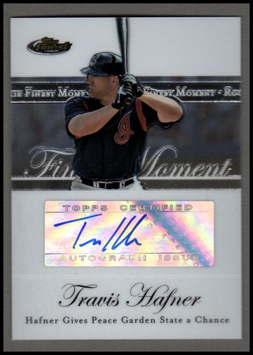 Photo of 2007 Finest Rookie Finest Moments Autographs #TH Travis Hafner