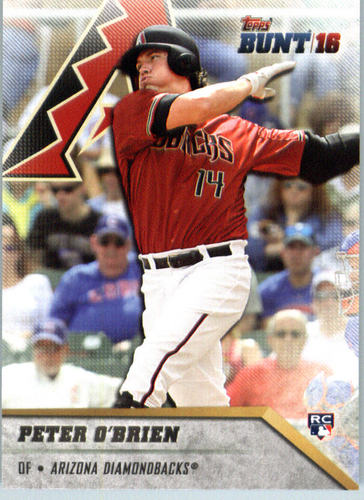 Photo of 2016 Topps Bunt #134 Peter O'Brien RC