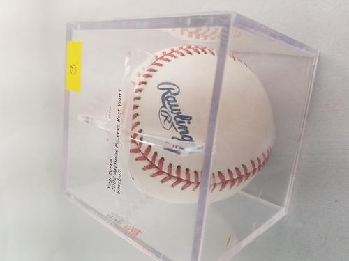 Photo of 2002 Topps Archives Reserve Autographed Baseballs #3 Yogi Berra/100
