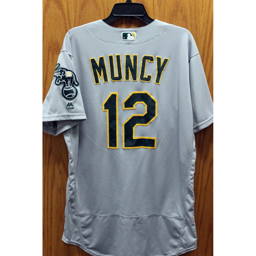 Photo of 2016 Game-Used Max Muncy Jersey