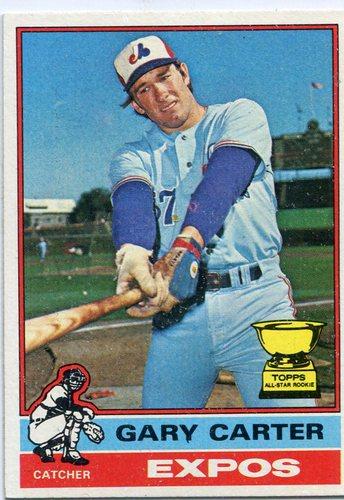Photo of 1976 Topps #441 Gary Carter -- Hall of Famer