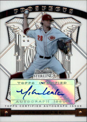 Photo of 2009 Bowman Sterling Prospects #ML Mike Leake AU