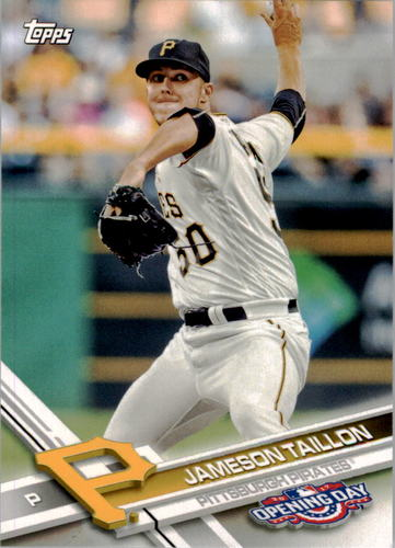 Photo of 2017 Topps Opening Day #180 Jameson Taillon
