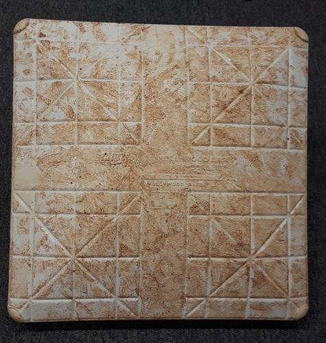 Photo of Authenticated Game Used Base - May 29-31 vs Cincinnati Reds (Innings 1 to 3, Second Base)