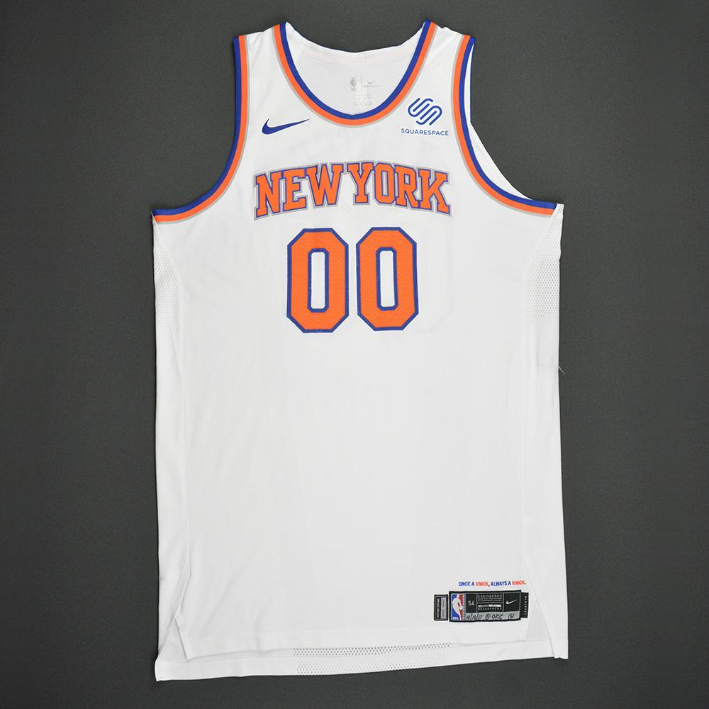 Enes Kanter - New York Knicks - Kia NBA Tip-Off 2017 - Game-Worn 1st Half Only Jersey