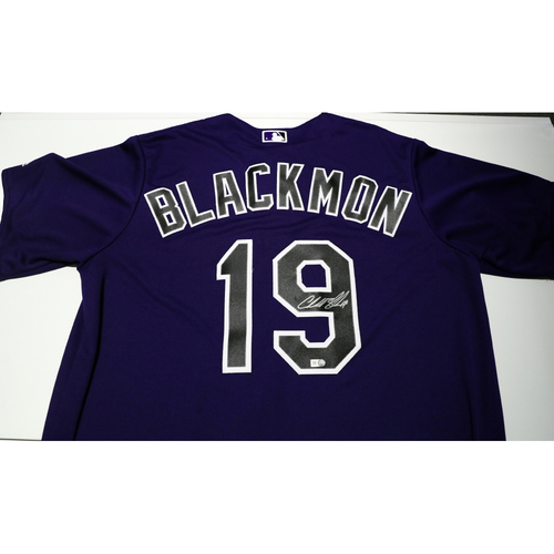 Photo of Compton Youth Academy Auction: Charlie Blackmon Signed Jersey