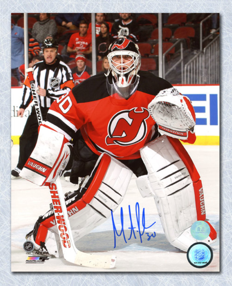 Martin Brodeur New Jersey Devils Autographed Game Action 8x10 Photo
