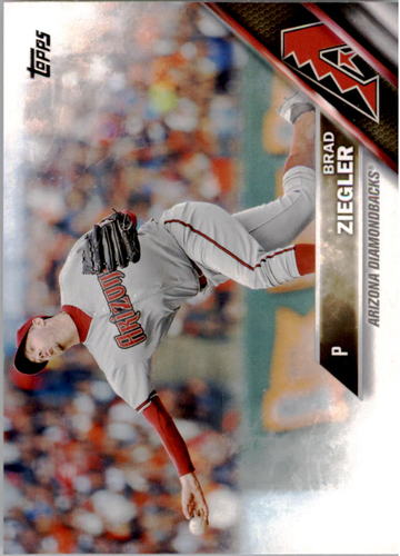 Photo of 2016 Topps #25 Brad Ziegler