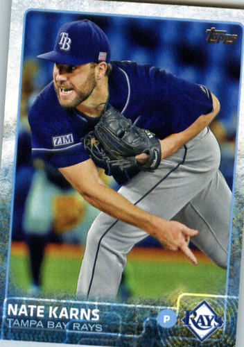 Photo of 2015 Topps Update #US330 Nate Karns